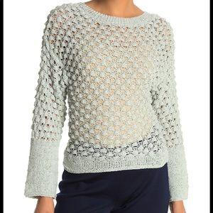 NEW Theory Lace Stitch Sweater